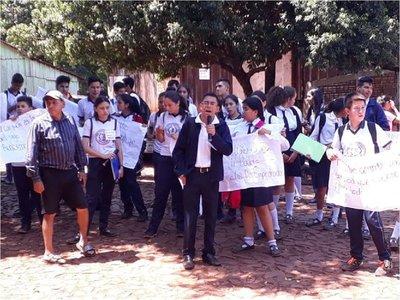 Organizaciones manifiestan su apoyo a estudiante de Mayor Otaño
