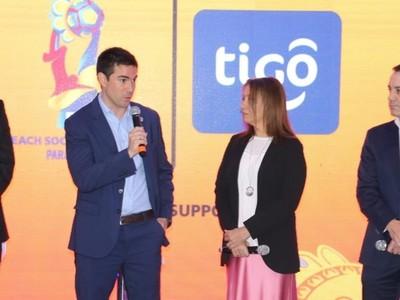 Tigo Paraguay, promotor nacional de la Copa Mundial de Beach Soccer
