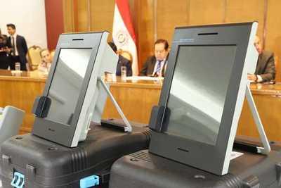 Se levantó suspensión de la licitación de maquinas para voto electrónico