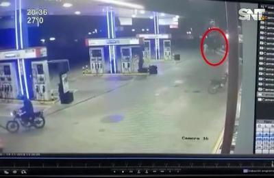 Persecución y muerte en Ñemby: Asaltaron una gasolinera