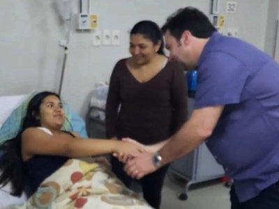 Exitosa cirugía fetal para  evitar que  nazca con malformación