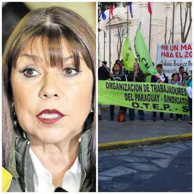 """OTEP contra Celeste: """"Los burros van a ir a su casa a llevarle una serenata"""""""