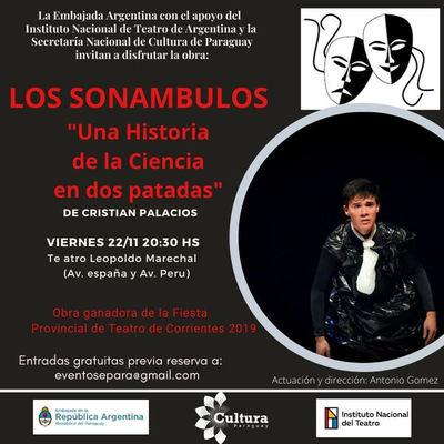 """Embajada invita a """"Los Sonámbulos: una historia de la ciencia en dos patadas"""""""