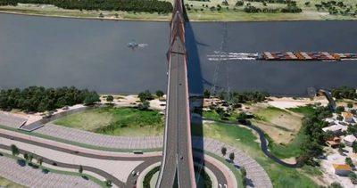 Reciben ofertas para 449 METROS el puente a Chaco'i