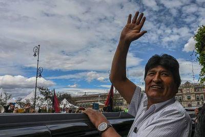 Morales no admite ninguna responsabilidad en crisis en Bolivia