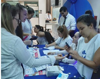 Jornada de prevención de diabetes en Central