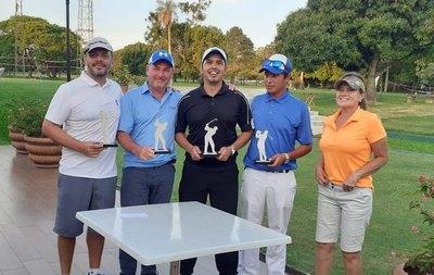 Cabral, Elizeche, González y Alfonso, ganan la Copa Desafío de golf