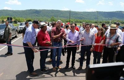 Nueva ruta Sapucai-Alpasa beneficiará a 36 mil pobladores
