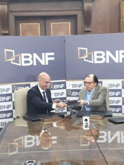 BNF suscribe convenio con Salud Pública para refinanciar deudas de funcionarios