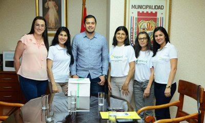 Prieto firma convenio de cooperación con la Fundación de Celiacos de CDE