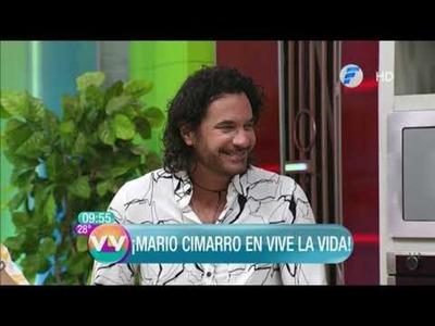 Mario Cimarro en la cocina de Vive la Vida