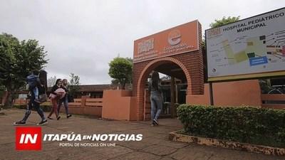 HOSPITAL PEDIÁTRICO BENEFICIADO CON GS. 200.000.000 DEL GOBIERNO NACIONAL