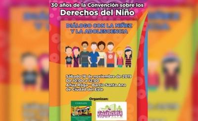 Preparan jornada de diálogo entre Prieto y niños y adolescentes