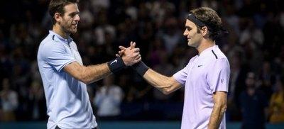 Del Potro no jugará ante Federer en Buenos Aires