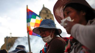 Bolivia: cinco muertos por enfrentamientos en marchas contra gobierno de facto