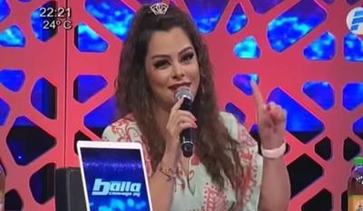 """Larissa Riquelme: """"Siempre triunfa el bien, tarda pero llega"""""""