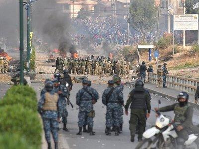 La presidenta interina de Bolivia denuncia ataques de extranjeros armados
