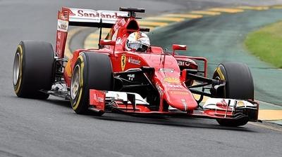 Los Ferrari, hicieron el mejor tiempo en los libres 2 en el circuito de Brasil