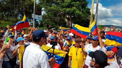 #16N: Venezuela se sumerge en un mar de protestas a favor y en contra del Gobierno de Maduro