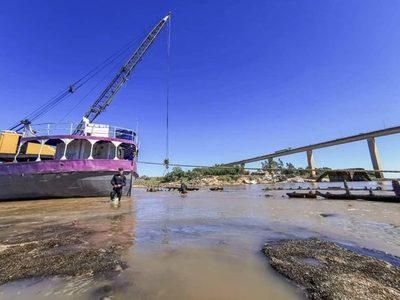 Restos del buque vapor Paraguarí serán rescatados
