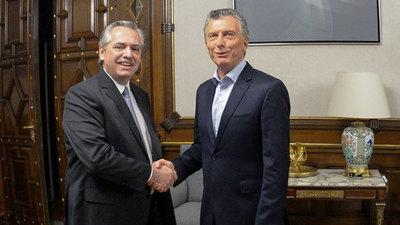 Argentina: «Se está dando un traspaso con tranquilidad y hay que mantenerlo»