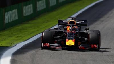 """""""Controlé la carrera"""": así festeja Verstappen su hazaña en el GP de Brasil"""
