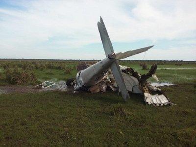 Yuty: Avioneta se estrella en estancia y deja un fallecido