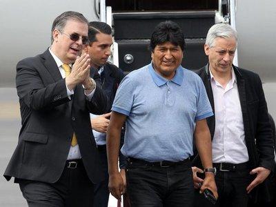 Evo Morales denuncia crímenes de lesa humanidad en Bolivia