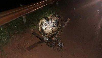 Accidente con derivación fatal en Yby Yaú