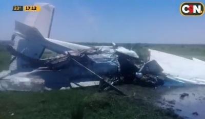 Avioneta cayó por error humano, aseguran desde la Dinac