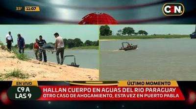 Hallan cuerpo de hombre ahogado en el río