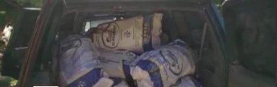 Incautan 455 kilos de marihuana en Caaguazú