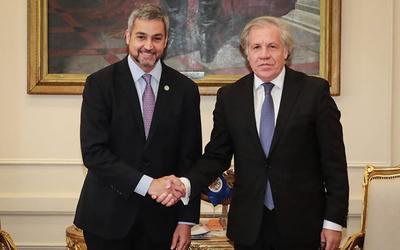 Almagro destaca rol de Paraguay para la democracia en la región