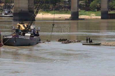 Recuperación del buque Paraguarí tomará unos 15 días