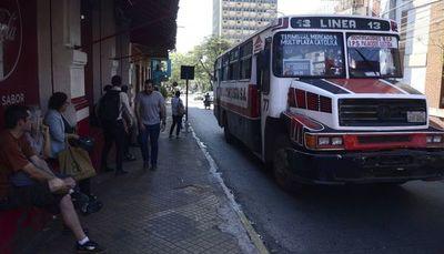 Servicio de transporte público se regularizaría desde este martes