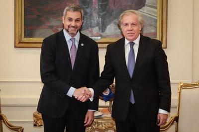 Abdo ratifica compromiso con la democracia y la defensa de los derechos humanos