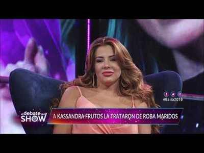 Kassandra Frutos y Crucerito cara a cara en el Debate del Show