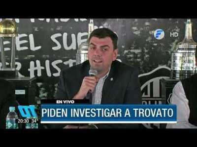 Presidentes de clubes piden investigar a Trovato