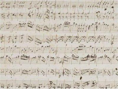 Una partitura original de Mozart vendida por USD 411.000