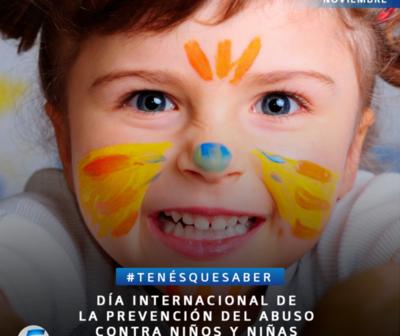 Día contra el Abuso Infantil, ni una sola caricia a la fuerza