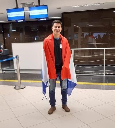 San Carlos: Joven becado de retorno a su ciudad