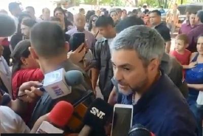 Abdo Benítez se expide sobre situación de Cartes