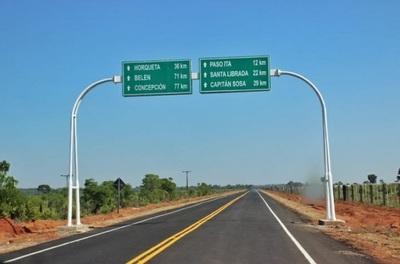 Inauguran ruta que beneficiará a 80 mil pobladores del norte