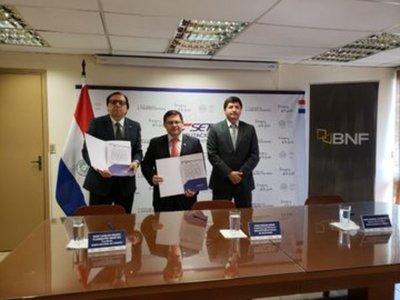 SET y BNF suscriben convenio para mejorar servicio a la ciudadanía