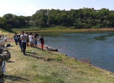 Adolescentes desaparecen en aguas del río Paraná