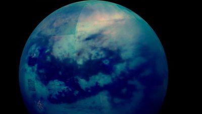 Completan el primer mapa geológico de la luna Titán, un 'espejo' de la Tierra