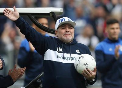 La travesía de Diego Armando Maradona como el 'jefe' de Gimnasia