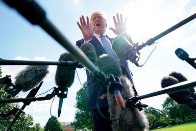 Trump está furioso con las especulaciones sobre su estado de salud