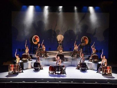 El ritmo y la  fuerza de  tambores japoneses llegan al teatro del BCP