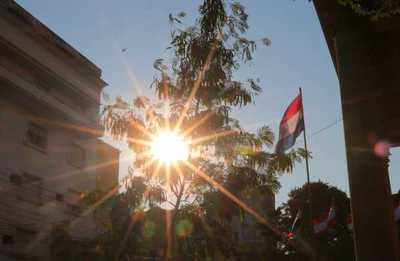 Meteorología anuncia jornada muy calurosa en todo el país